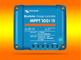 VICTRON laadcontroller Energy BlueSolar MPPT 100/15 voor 12V / 24V