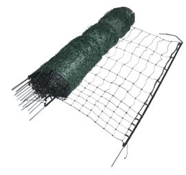 Kippennet, groen, 112cm, 1 pen