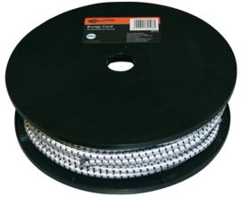 Gallagher Rol elastisch koord wit 50m