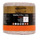 Gallagher Vidoflex 9 TurboLine Plus wit 400m