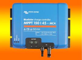 VICTRON laadcontroller Energy BlueSolar MPPT 150/45 150Volt / 45Amper MC4