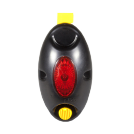 Afrasterings controle lamp