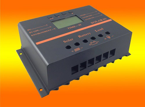 60A solar LCD laadregelaar fotovoltaïsche 12 V / 24 V auto.