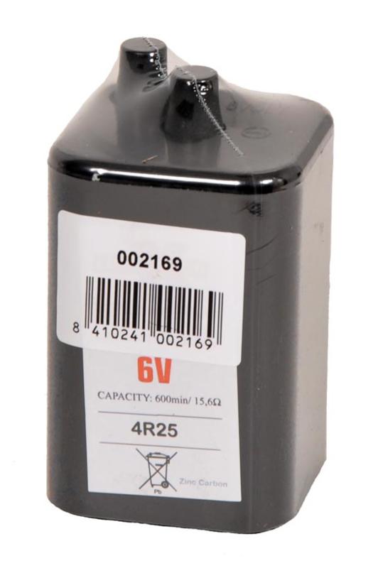 6V batterij voor Foxlight