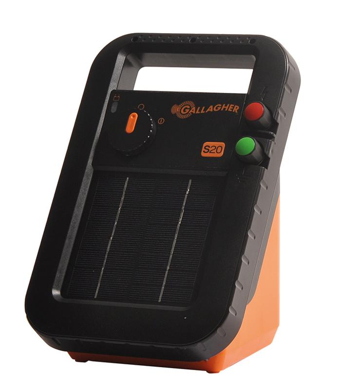 Gallagher S20 incl.batterij en staandersteun (6V - 0,2 J)