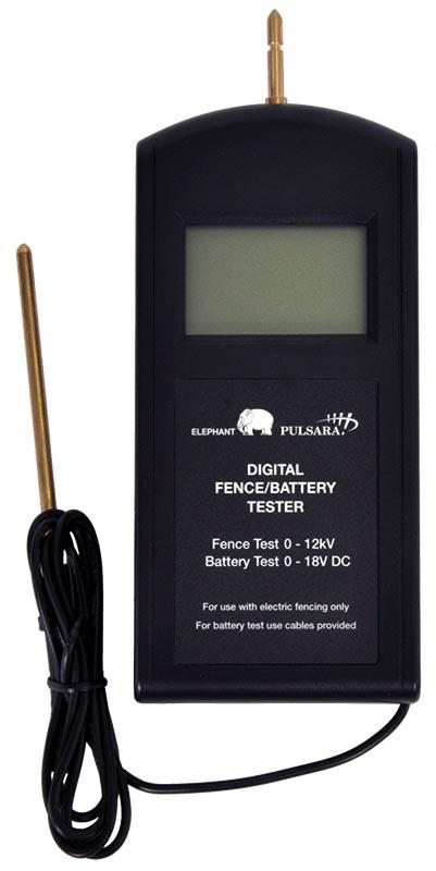 Solarfence Digitale duo meter