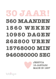 "Lifestyle poster ""Jubileum"""