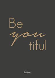 "Kinderkamer poster ""BeYoutiful"""