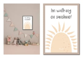 """Kinderkamer poster """"Sunshine"""""""