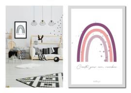 "Kinderkamer poster ""Rainbow"""