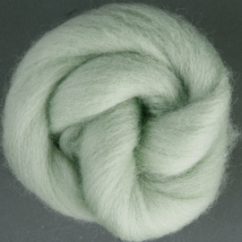 Lontwol Corriedale Sliver - Mint
