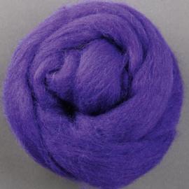 Lontwol Corriedale Sliver - Purple
