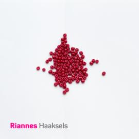 Rocailles 4 mm Wijn rood - 161224