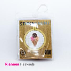 Borduurpakket IJsje - 5 cm