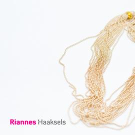 Balletjes ketting goud - 1,2 mm