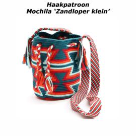 Haakpatroon Mochila 'Zandloper klein'