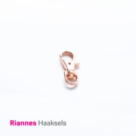 Sleutelhanger rosé goud 38 mm