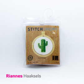 Borduurpakket Cactus - 5 cm