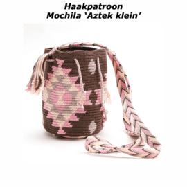 Haakpatroon Mochila 'Aztek klein'