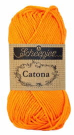 Scheepjes Catona Tangerine 281