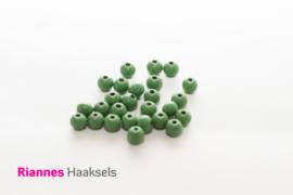 Houten kralen 8 mm groen - 17510