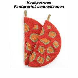 Haakpatroon Panterprint pannenlappen