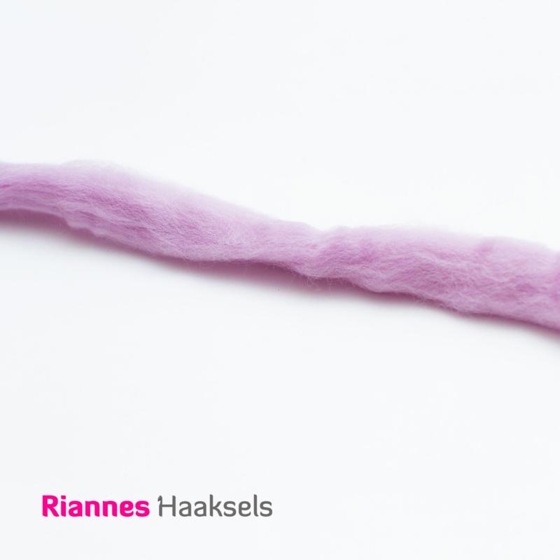 Lontwol Corriedale Sliver - Lavender