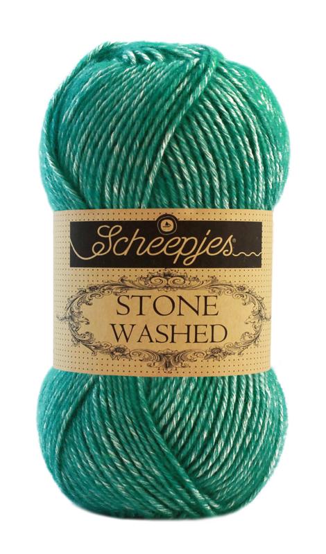 Scheepjes Stone Washed Malachite 825