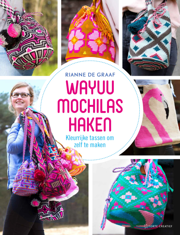 Boek, Wayuu mochilas haken NL