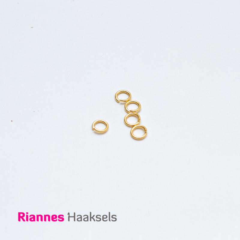 Buigringen goud - 7,5 mm