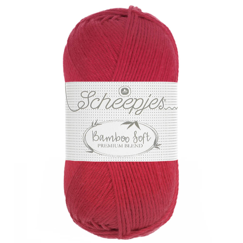 Scheepjes Bamboo Soft Hot Berry 262