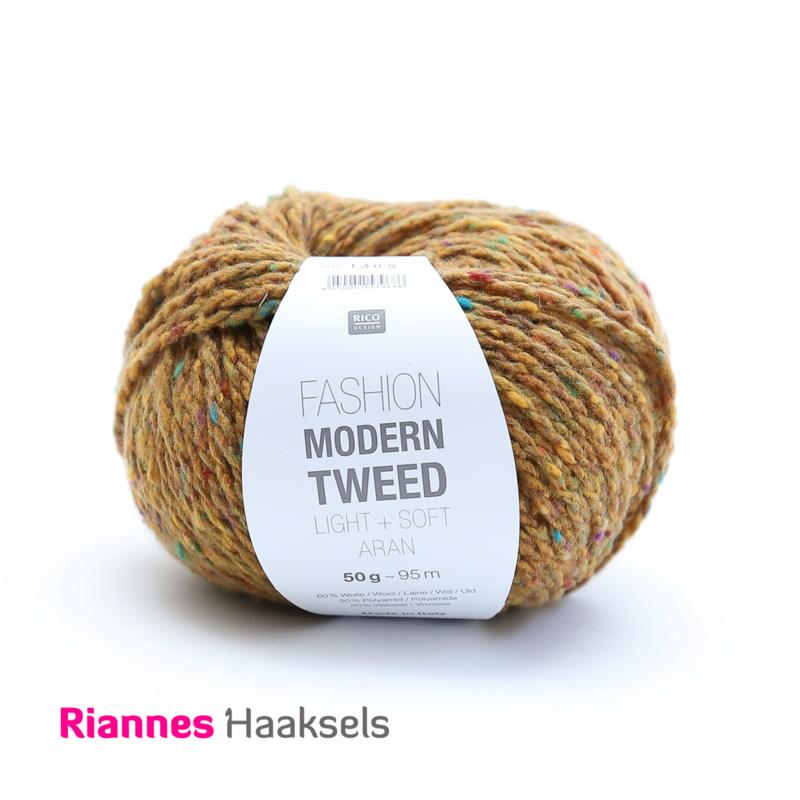 Rico Fashion Modern tweed - Oker 004