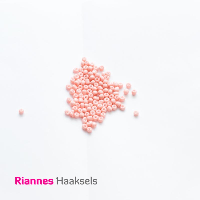 Rocailles 4 mm Zacht roze - 161207