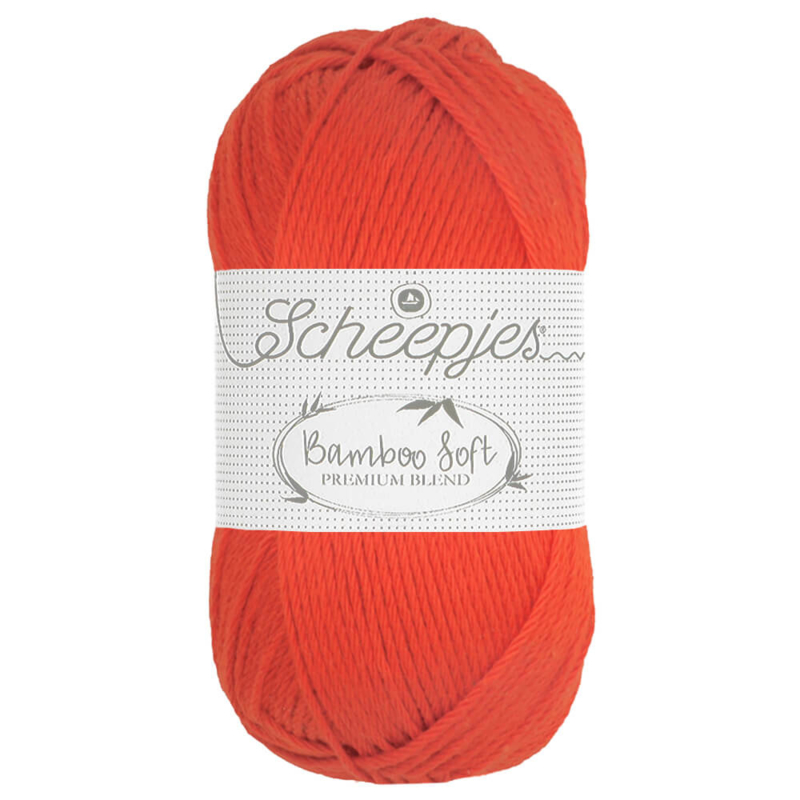 Scheepjes Bamboo Soft Regal Orange 261