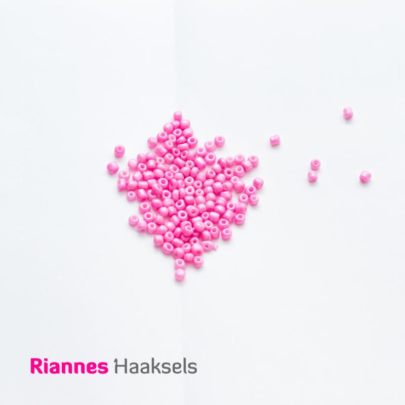 Rocailles 4 mm Snoepjes roze - 161205