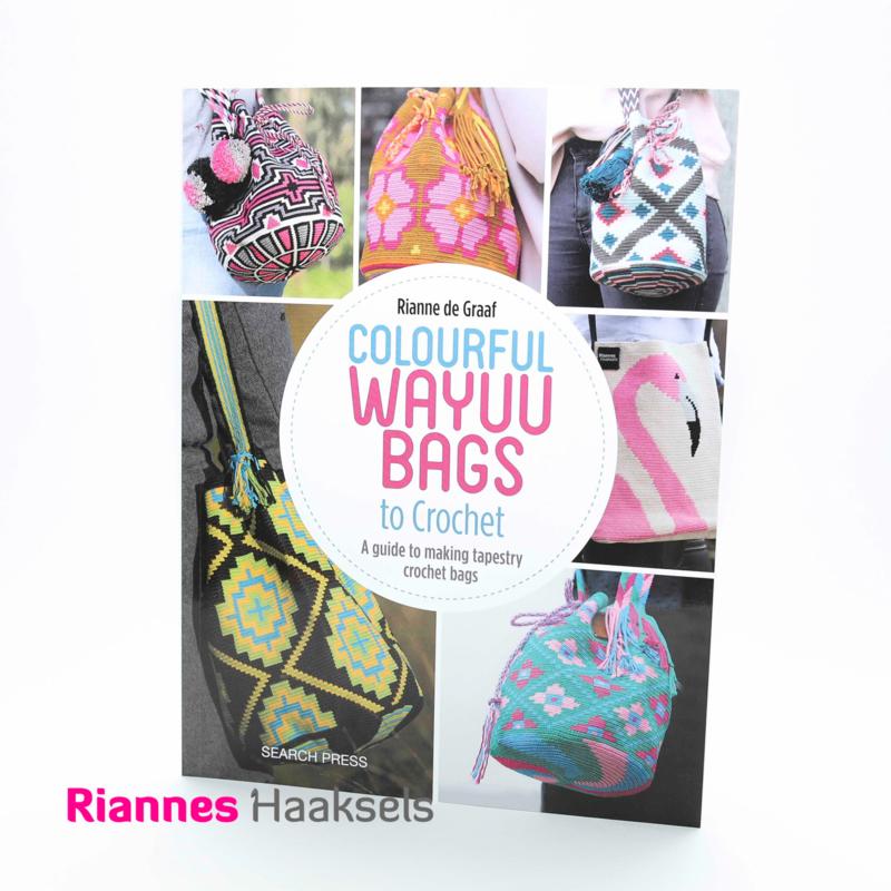 Book, Colourful Wayuu Bags to Crochet UK