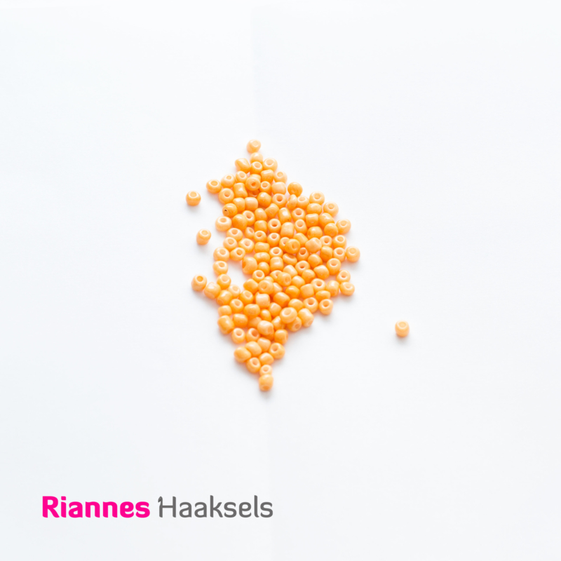 Rocailles 4 mm Zonnig oranje - 161226