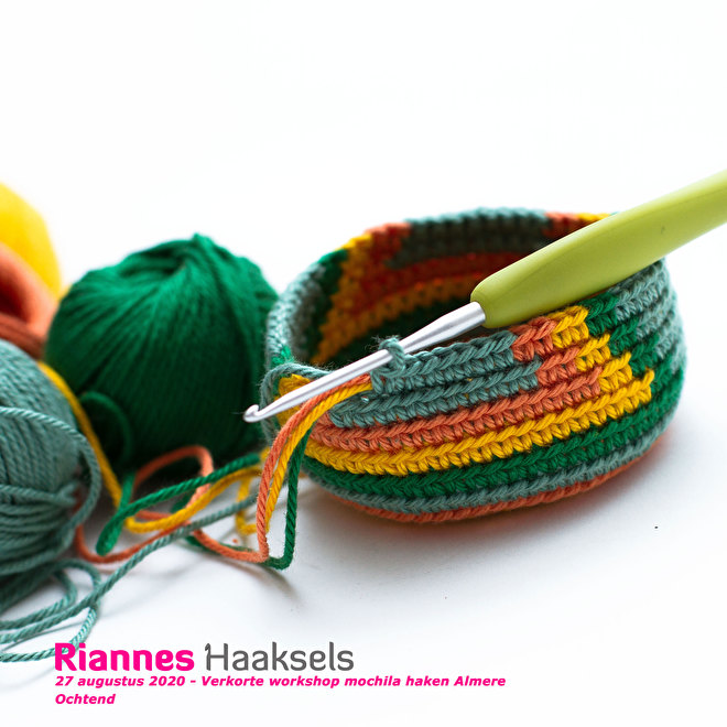 workshop mochila haken almere