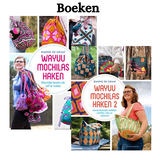boek Wayuu mochilas haken mochila tapestry