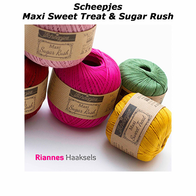 Sweat treat sugar rush scheepjes haak katoen haakkatoen