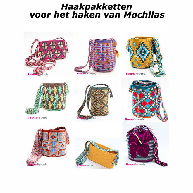 Mochila haakpakketten tapestry haken