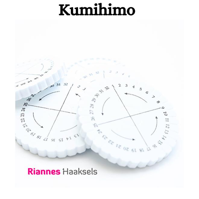 Kumihimo vlecht schijf