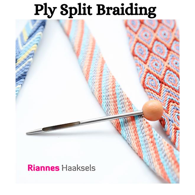 ply split braiding gripfid splitsvlechten