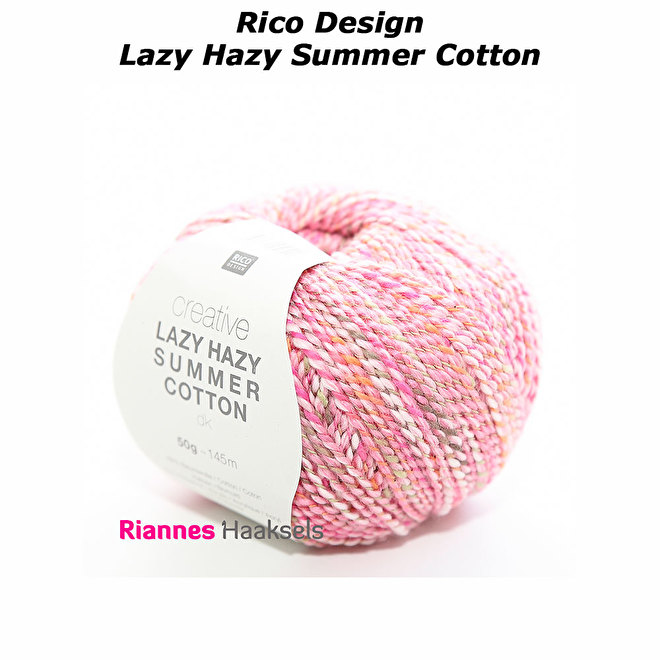Rico design Lazy hazy summer cotton katoen