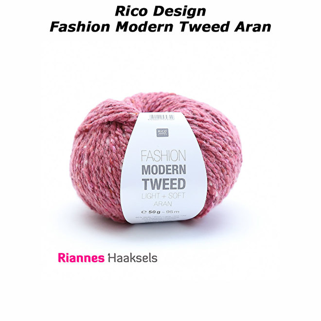 Rico Design Fashion Modern Tweed aran garen