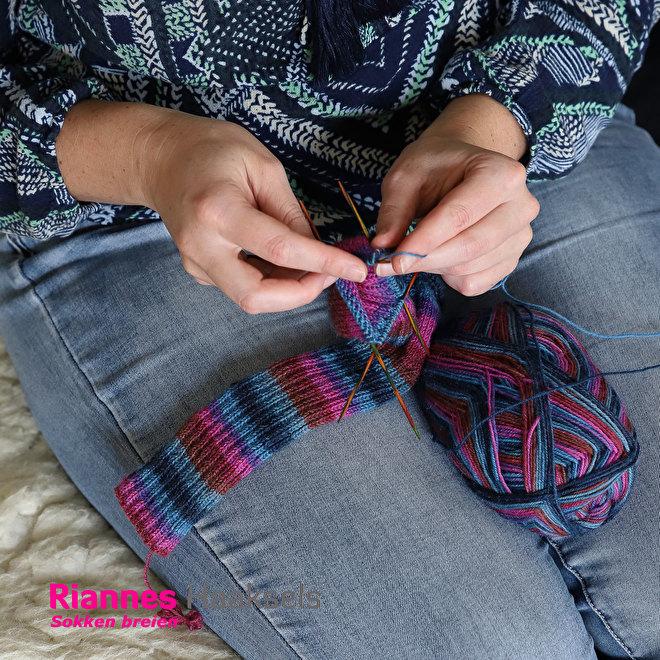 breien sokken knitpro