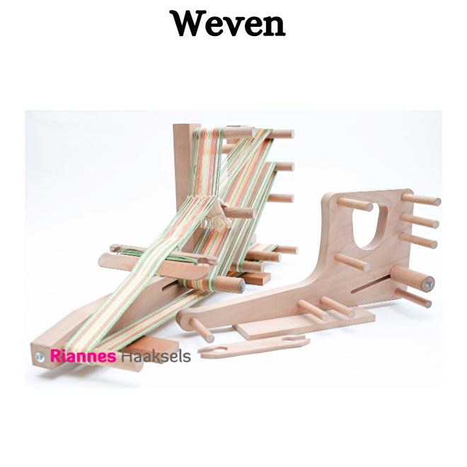 Weven bandweven inkle loom inklette