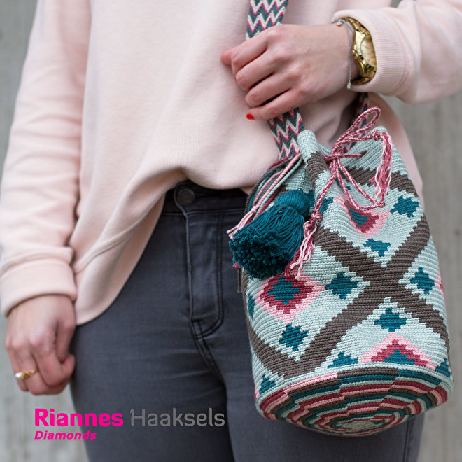 Wayuu mochila Diamonds