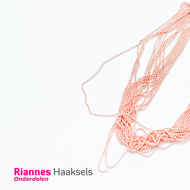 ball chain balletjes ketting