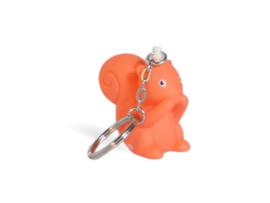 Betty oranje sleutelhanger